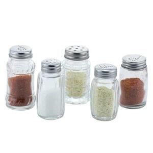 30ml - 50ml Kitchen Condiment Storage Container Seasoning Glass Bottle Spice Jar