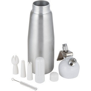 500ML Artisan Whipped Cream Dispenser, Cream Whipper with Decorating Nozzles