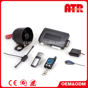 Arming without transmitters 105~125dB magic car alarm system