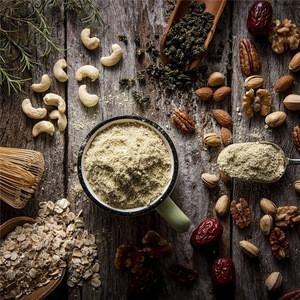 Brown Rice Oat Red Date Cocoa Almond Walnut Cashew Pecan Pistachio Probiotic Buckwheat Foxtail Millet Quinoa Instant Porridge