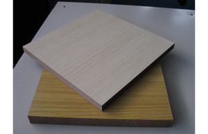 Cheap laminated melamine mdf board