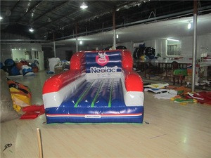 Cheap outdoor inflatable bungee run for sale
