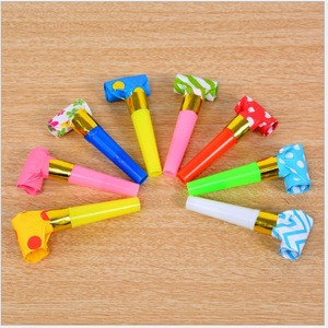 Crazy Birthday Party Paper Blowout for Children Party Supplies noise maker