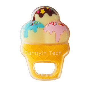 Cute  Panda & Ice Cream & Giraffe Sharp New Design And Best Quality  Gife Gum Massager Of  cooling Baby Teether