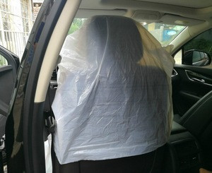 Factory customized plastic car seat cover with cheap price