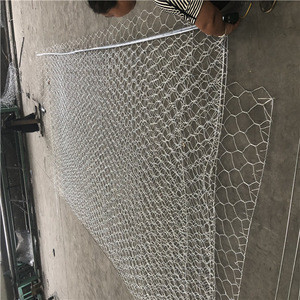 Flood control hot dipped galvanized gabion box