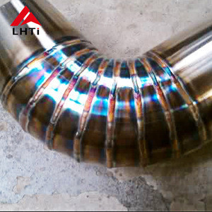 Gr2 Titanium pie cuts 2.5 inch/3.0inch/3.5 inch for welded exhaust system