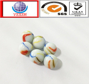 High polish solid colourfor glass marbles for children
