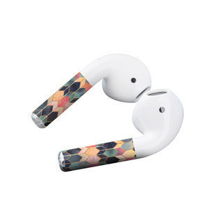 High quality pvc sticker for Airpods, for air pods super thin sticker skin case