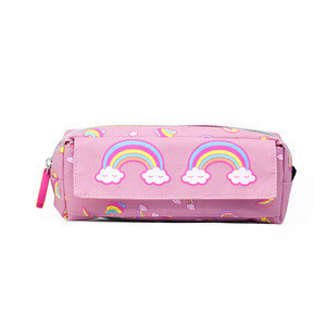HSI RDA190051AA 2020 new model cheap price rainbow unicorn style pencil pouch bag for school student