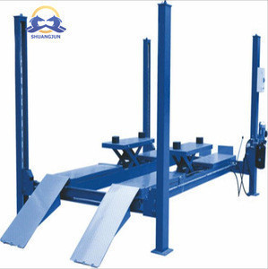 Hydraulic Vertical Platform Lift Four Post Car Lift