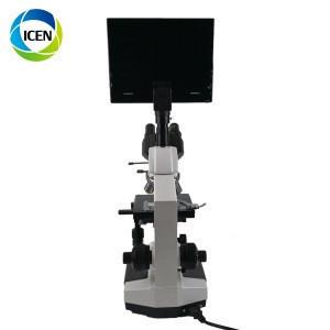 IN-B129-1 Digital medical laboratory 9.7-inch biological video  USB interface  binoculaelectronic Microscope