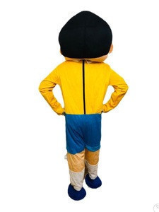 Indian nobita  mascot cosplay costume for Adults