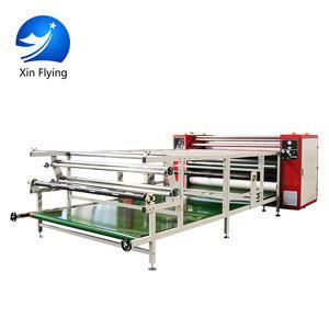 Industry Large Format Calandra Machine Textil Fabric Heat Press Machine Sublimation Calander For Fabric