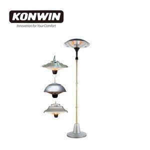 KONWIN patio heater with decorative function