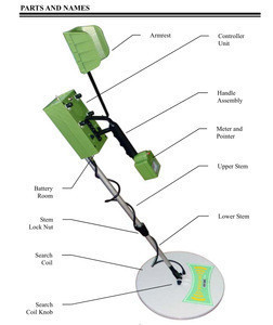 MD-89 ground search industrial metal detector
