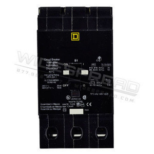New EDB34015, Square D ,15 Amp molded case circuit breakers