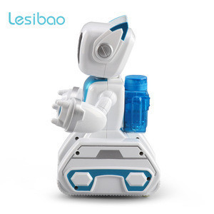 New Electric Voice Intelligent Robot Alien Water Driven Toy Robot with Talking Music for Kids