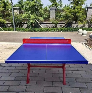 Park and home used outdoor and indoor foldable table tennis tables