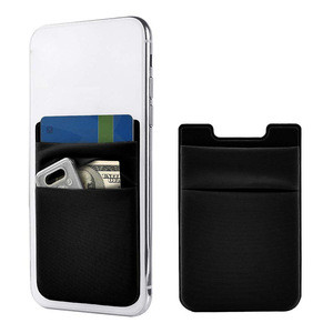 Phone Card Holder Stretchy Lycra Wallet Pocket