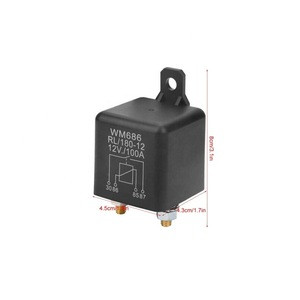 Relay Starter - WM686 100A Normal Open Heavy Duty Car Starter Relay for Control Battery ON/Off RL/180 DC 12V