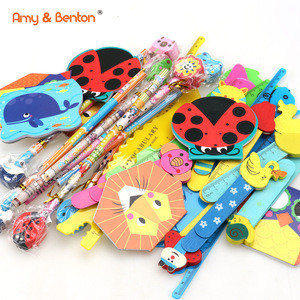 School classroom treasure box prizes carnival games stationery set kids for sale