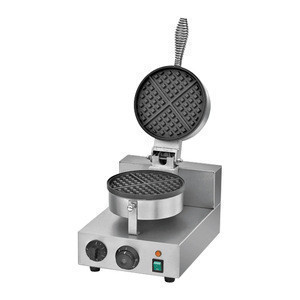 Snack Machine Electric 2 Plate Waffle Maker Machine / Non-Rotate Waffle Machine