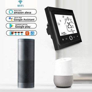 Touch Programmable Radiator Lcd Display Wifi System Warm Floor Heat Thermostat