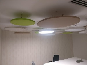 Tranquil Ecocore - PET Acoustical Panel Engraving Polyester Fibre Acoustic Ceiling Baffle and Cloud PET Acoustic