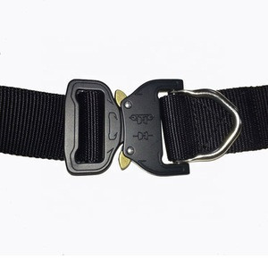 Wholesale Army Military Outdoor Quick Release Metal Buckle Web belt Nylon Fabric Belt for Men