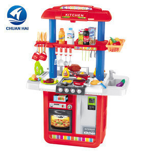 Wholesale cooking games pretend toys kids kitchen play set toy