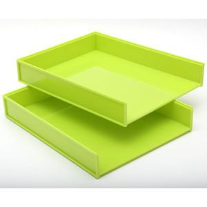 Wholesale hot popular custom colorful plastic desktop accessory organizer set