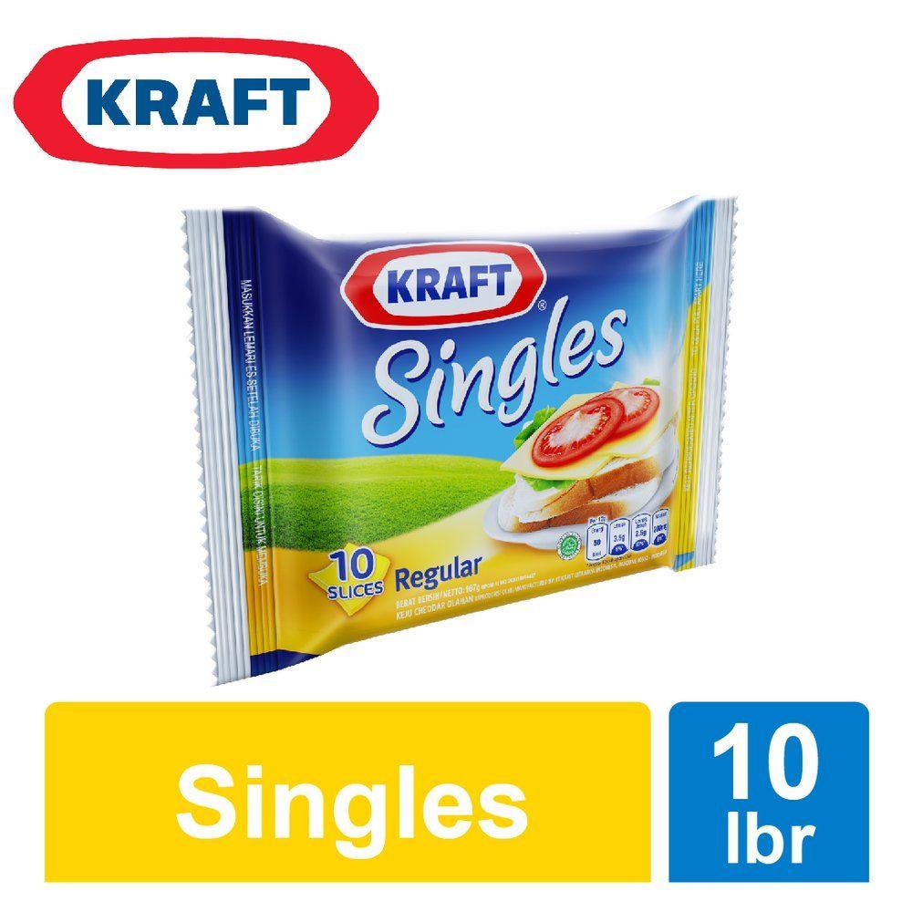 Kraft High Calcium Singles Cheese
