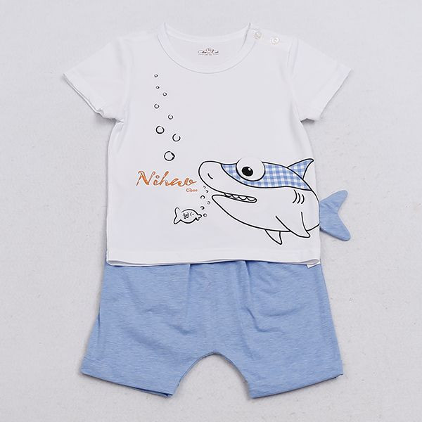 Import Baby Short Sleeve Baby Boy Shirts Boys Wear from China