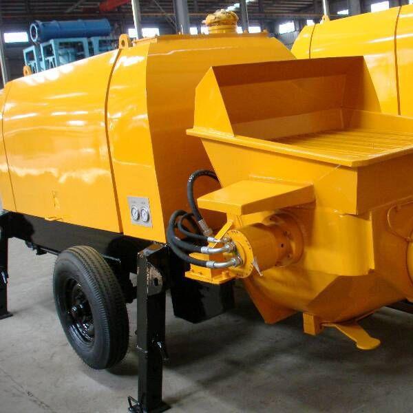 30m3 mobile concrete trailer pump for sale
