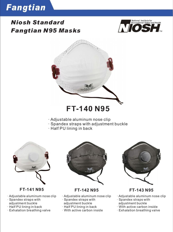 FT-140/141/142/143 N95