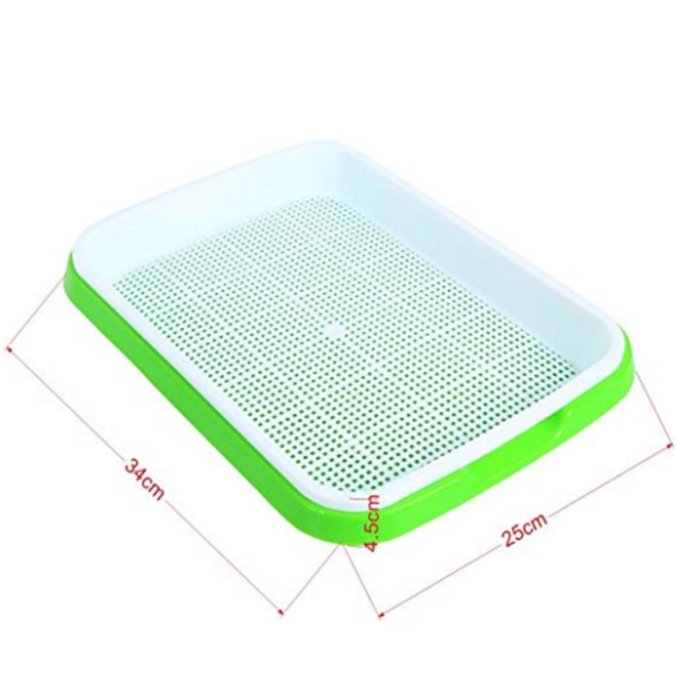 Skyplant Hot Selling hydroponic Nursery Seed Growing Plastic Plant Trays
