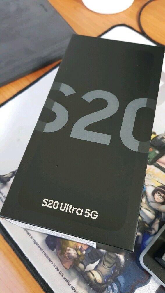 Samsung Galaxy S20 Ultra (5G) G988N 256GB Cosmic Gray Snapdragon 865!