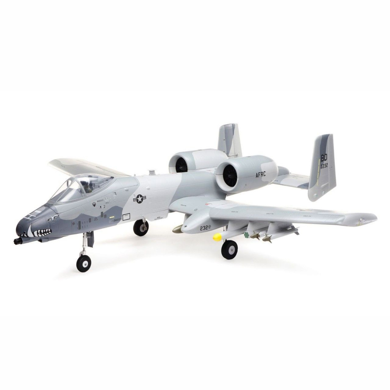 E-Flite A-10 Thunderbolt II 64mm EDF BNF Basic with AS3X and SAFE Select EFL01150