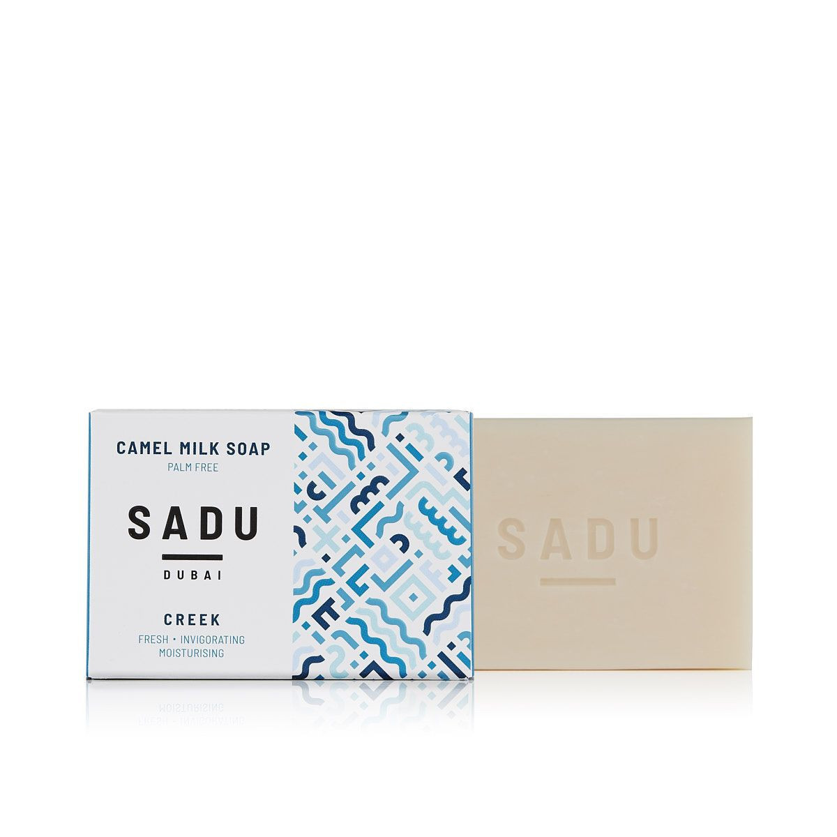 Camel milk soap Lime & Geranium - SADU collection