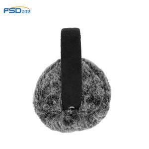 2018 Adults winter plush warm funny knit headband ear muff for winter