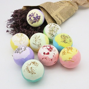 2019 Private Label Organic Spa Fizzy Bath Bombs