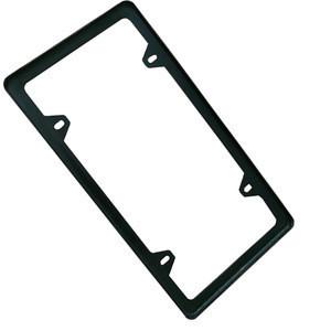4 holes US standard carbon fiber license plate frame