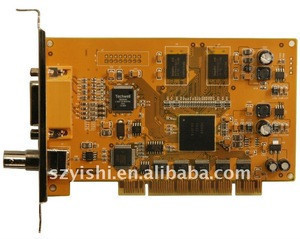4ch DVR LW-18004 Hardware/4 Channels CIF Real Time DVR Card with SDK