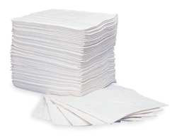 Absorbent Pads 15 in W White PK 100