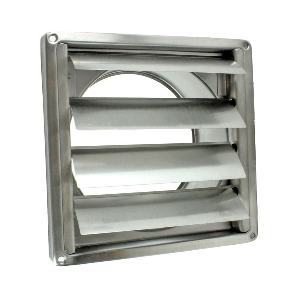 Air conditioner 304 stainless steel external vent with gravity flaps