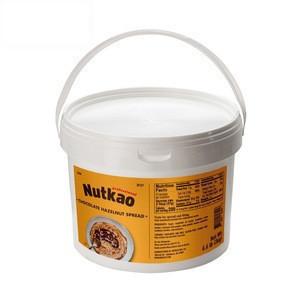 ALL-NATURAL ingredients Hazelnut Spread (NUT 26200) 3.0Kg (6.6Lb) buckets