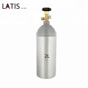Beverage Elements Reconditioned Steel 2L  CO2 Cylinder for beer  kegerater