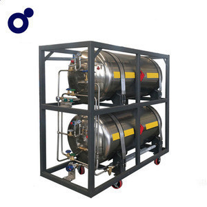 Cheap price horizontal cryogenic LNG cylinder LNG vehicle fuel tanks for trucks/cars