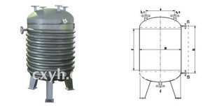 Chemical Jacketed Chemical Storage Tank
